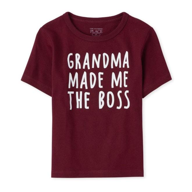 'Grandma Made Me The Boss' Graphic Tee