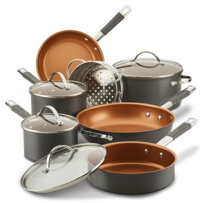 Hard Anodized Ceramic Cookware Set