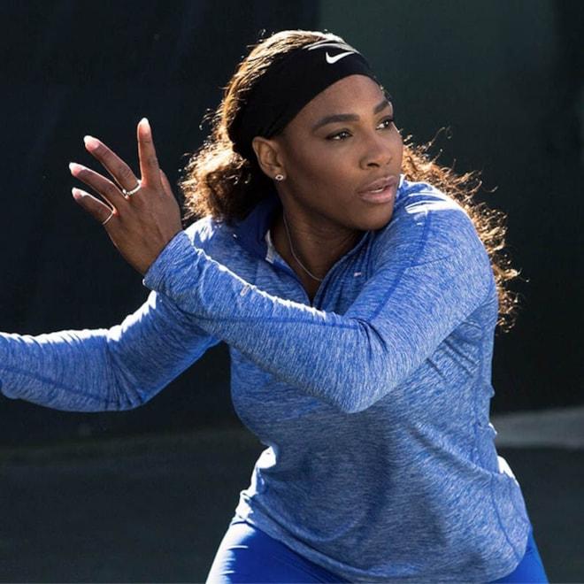 Serena Williams Teaches Tennis