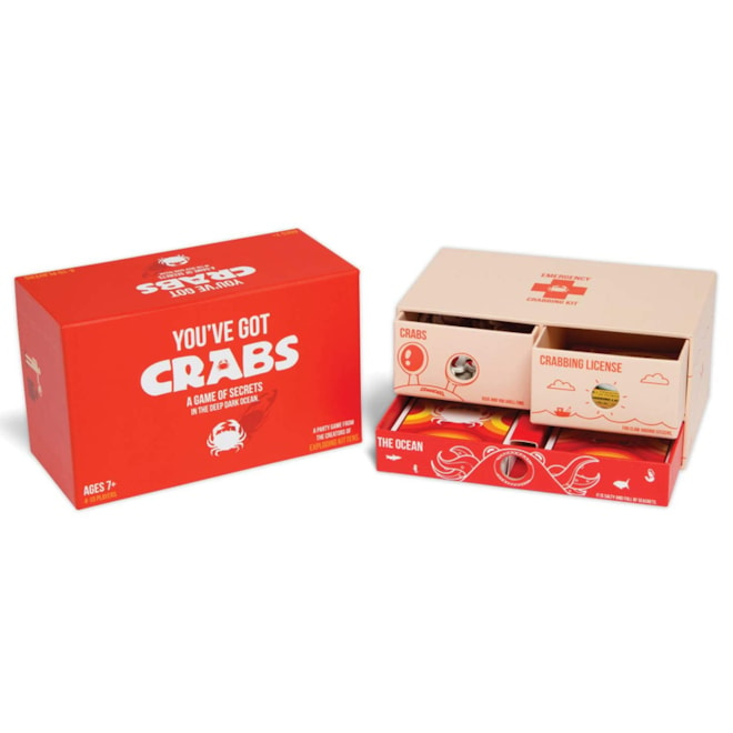 You've Got Crabs Family Game