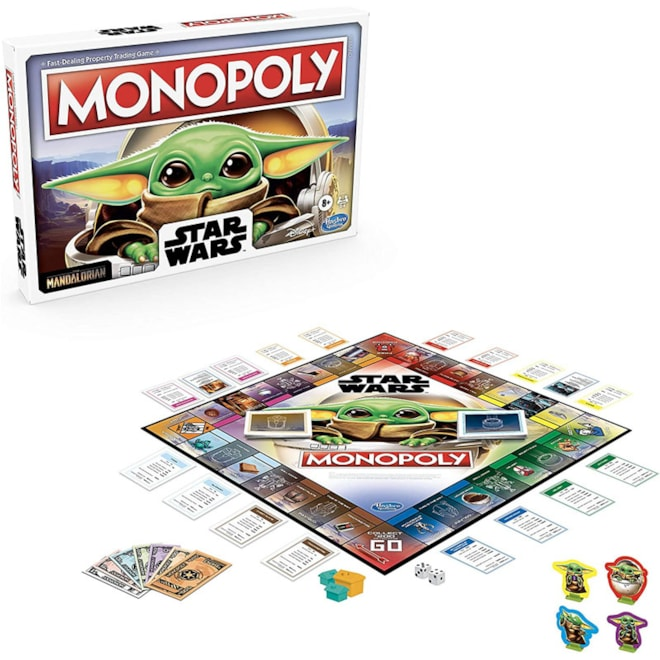 Monopoly: Star Wars The Child Edition Game