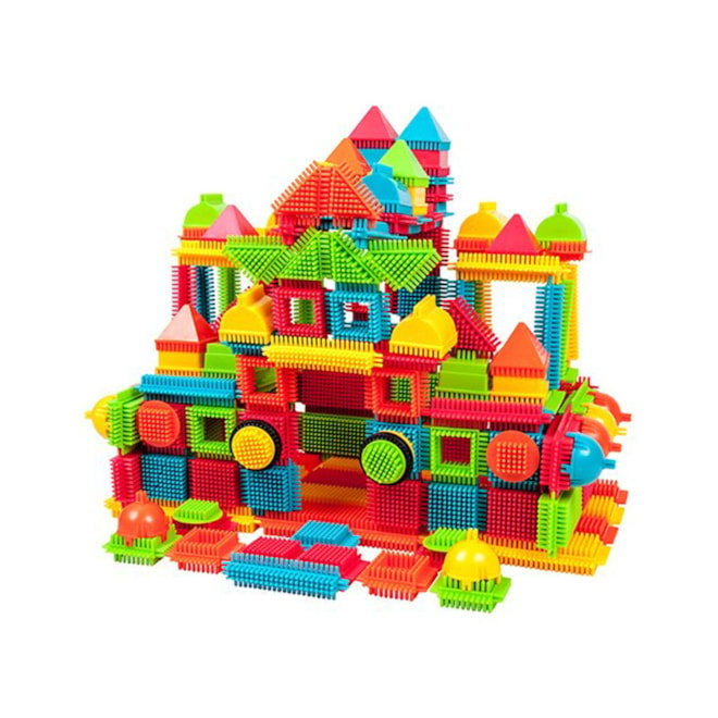 PicassoTiles 240 Bristle Blocks Set