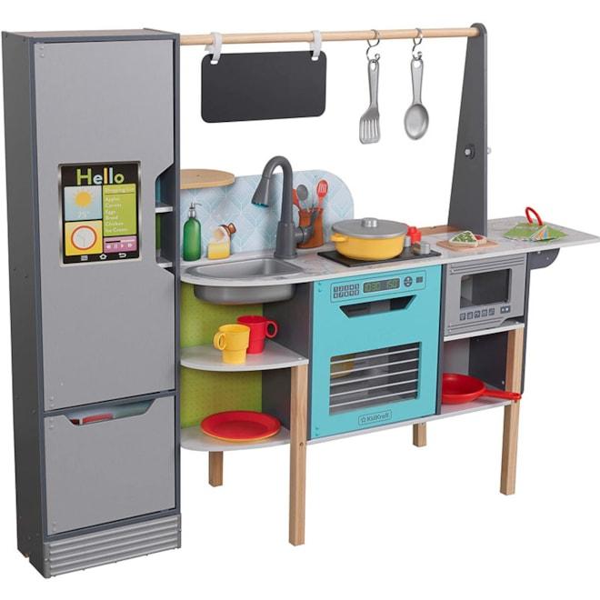 KidKraft Amazon Alexa Enabled 2-in-1 Kitchen & Market