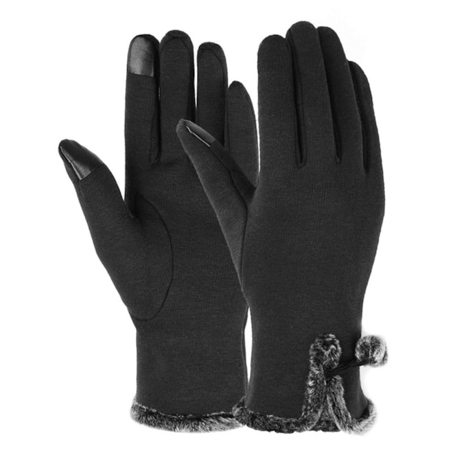 Lined Touch Screen Gloves