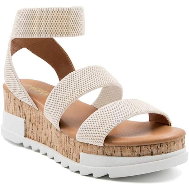 Athlefit Platform Wedge Sandals