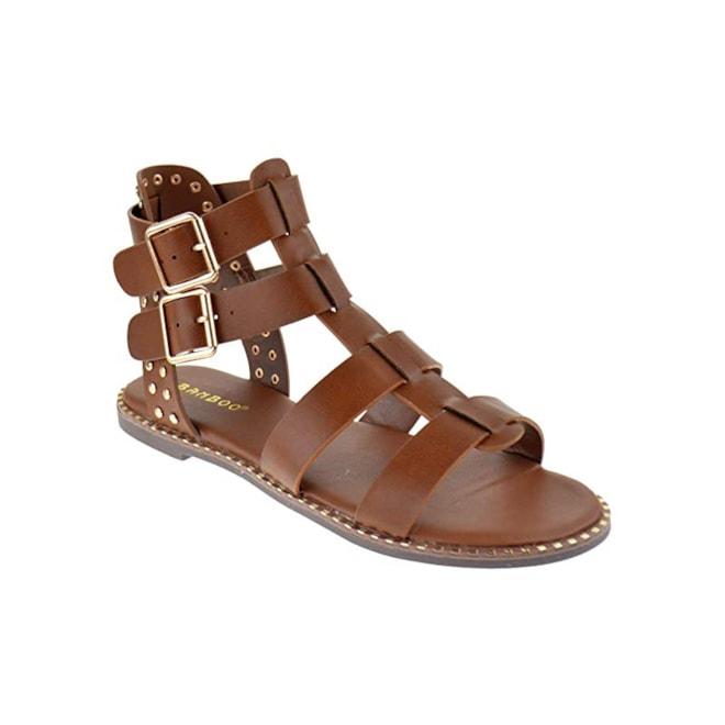 Minimal Open Toe Flat Sandals