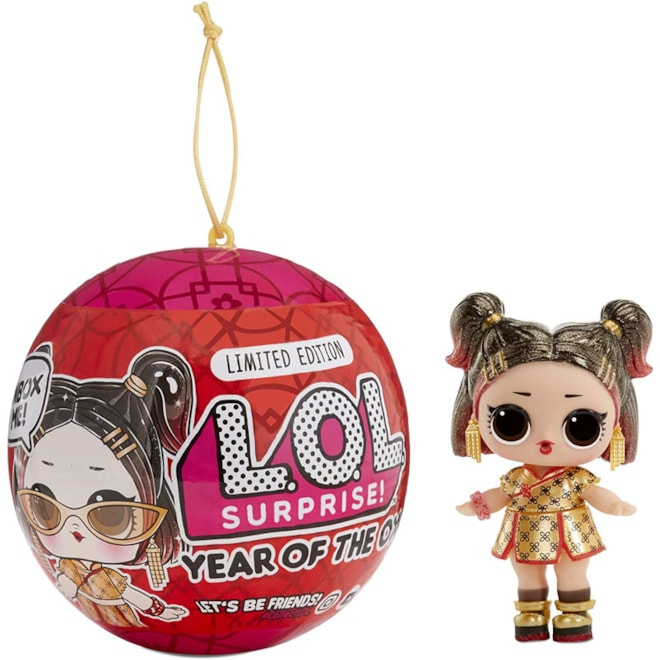 LOL Surprise Year of The Ox Doll or Pet with 7 Surprises