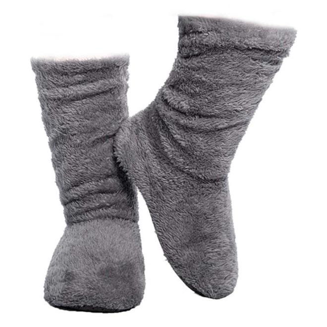 Womens Indoor Slipper Boot with Anti-slip