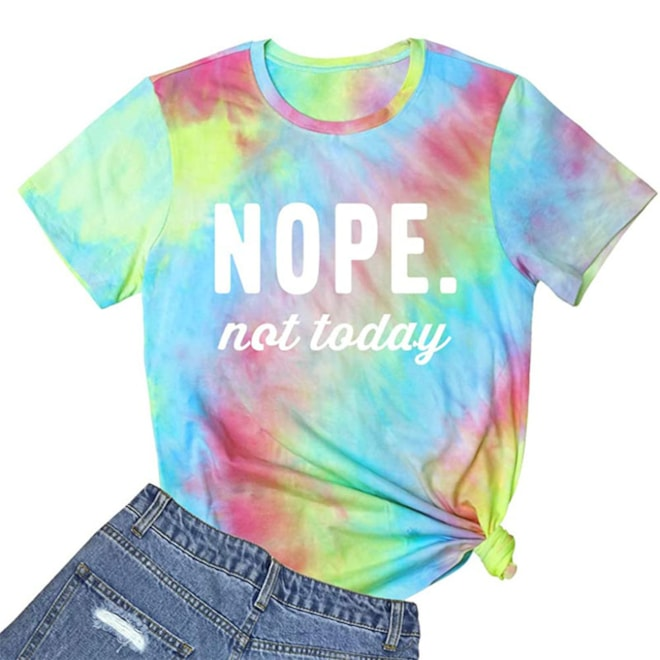 Nope Not Today Funny T Shirt