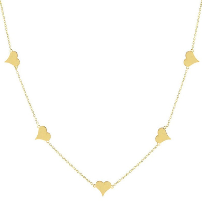 Adina's Jewels Heart Necklace   Nordstrom