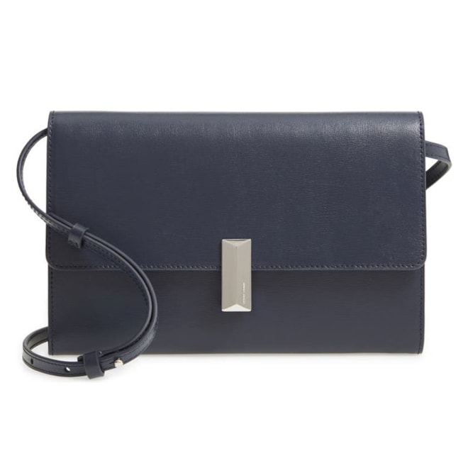 BOSS Nathalie Leather Crossbody Bag