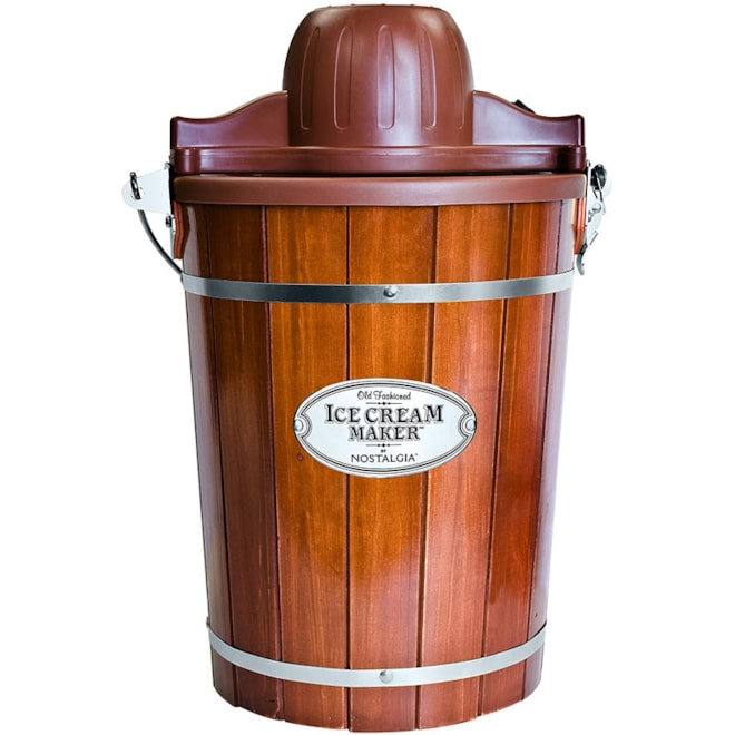 Wood Bucket Ice Cream Maker