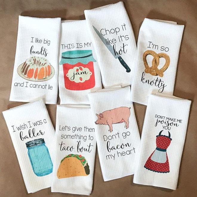 Funny Kitchen Tea Towels