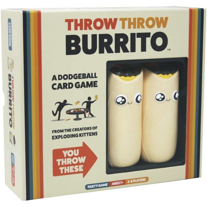 Throw Burrito Card Game