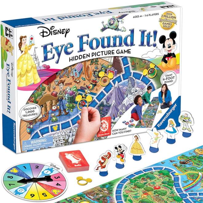 Disney Eye Found It Board Game