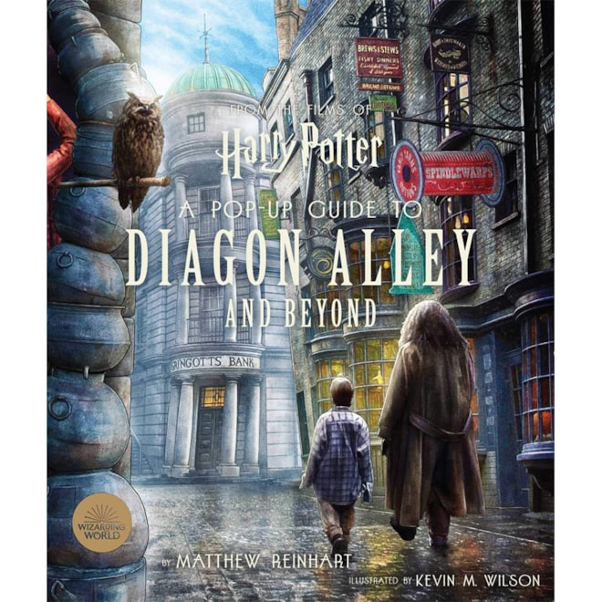 Pop-Up Guide Book Diagon Alley and Beyond
