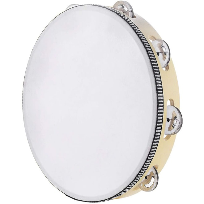 Tambourine for Adults 10 inch Hand Held Drum