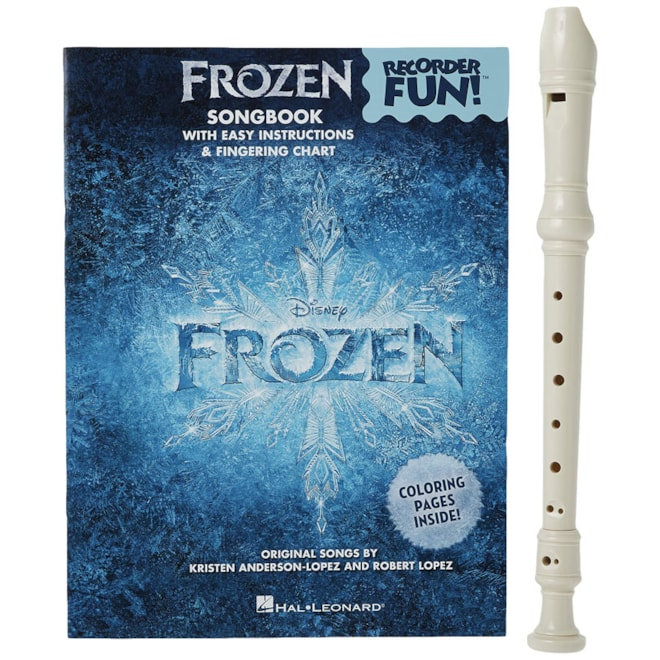 Recorder with Frozen Songbook