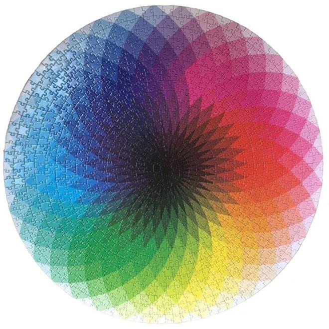 Round Rainbow Puzzle