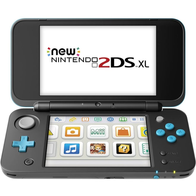 Nintendo New 2DS XL - Black   Turquoise