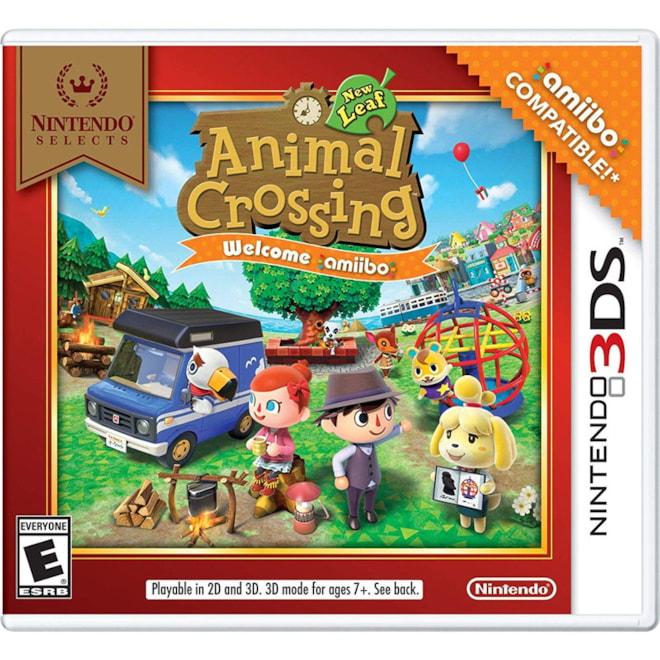 Nintendo Selects: Animal Crossing: New Leaf Welcome amiibo - Nintendo 3DS