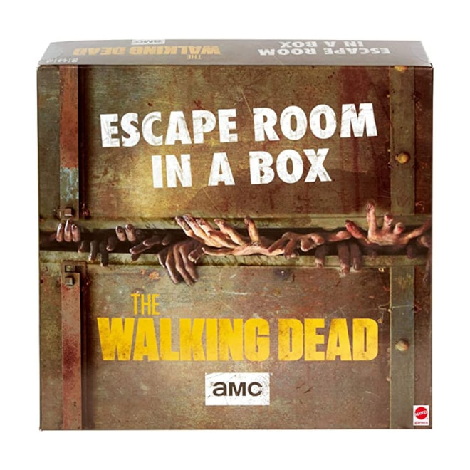 Walking Dead Escape Room Board Game