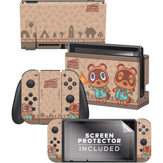 Controller Gear SKINS Authentic and Officially Licensed Animal Crossing: New Horizons