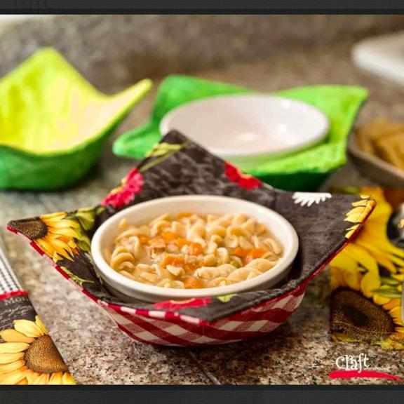 Soup Bowl Cozy Swap