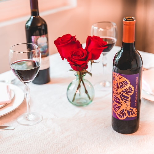 Red As Roses Half-Case Wine