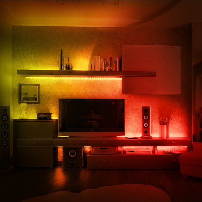 LE LED Strip Lights with Remote Controller