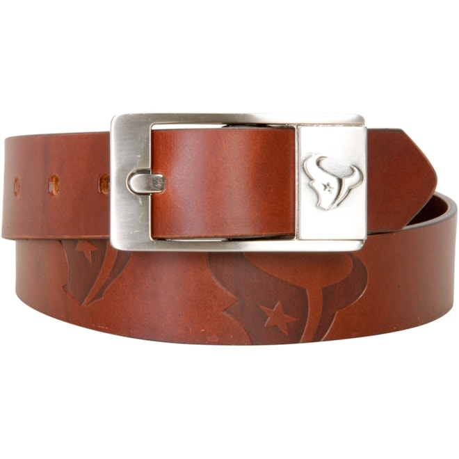Houston Texans Leather Belt