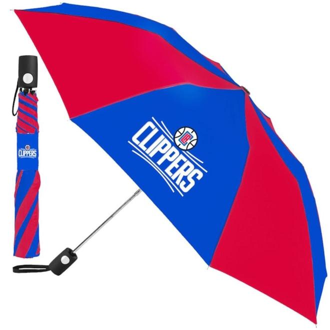 """LA Clippers 42"""" Folding Umbrella"""