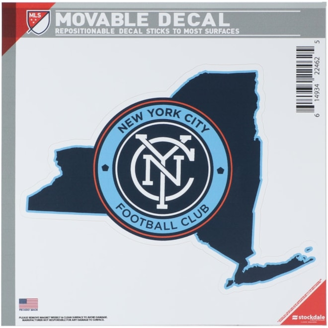 New York City FC All Surface State Decal