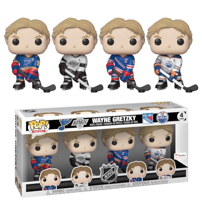 Wayne Gretzky Funko 4-Pack Fanatics Exclusive