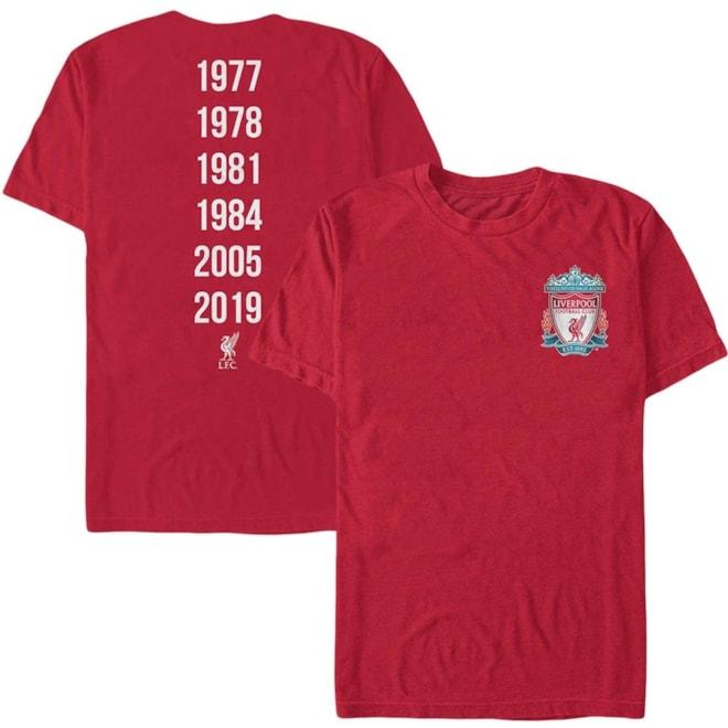 Liverpool UEFA Champions League T-Shirt