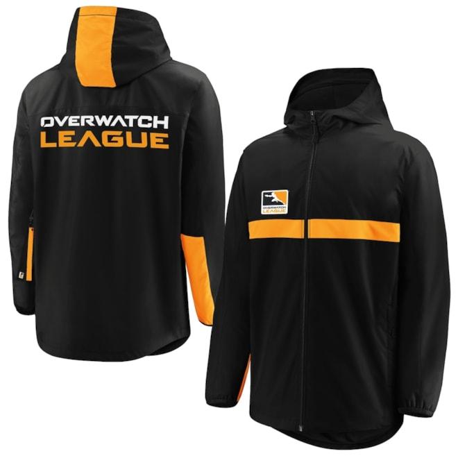 Overwatch League Staple Authentic Full-Zip Hoodie Jacket - Black