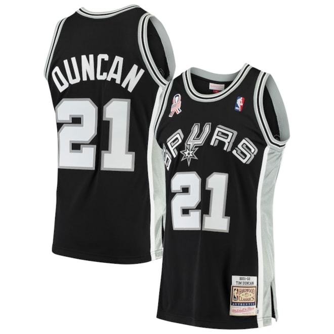 Tim Duncan San Antonio Spurs Classics Jersey