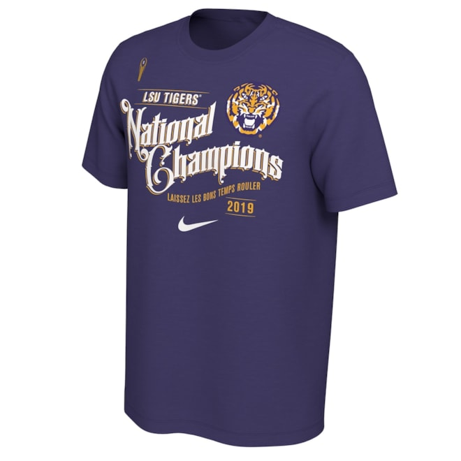 LSU Tigers Nike Celebration T-Shirt