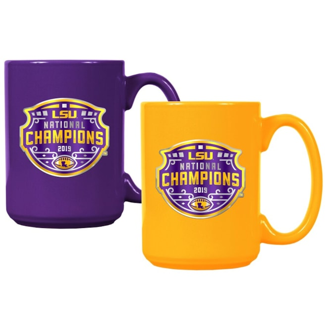 LSU Tigers '19 National Champions Mug Set