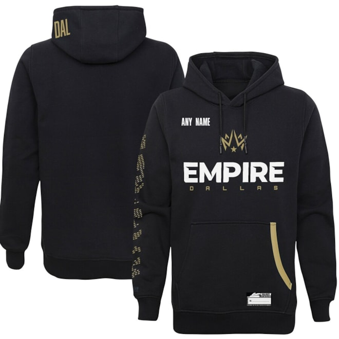 Dallas Empire Custom Pullover Hoodie - Black