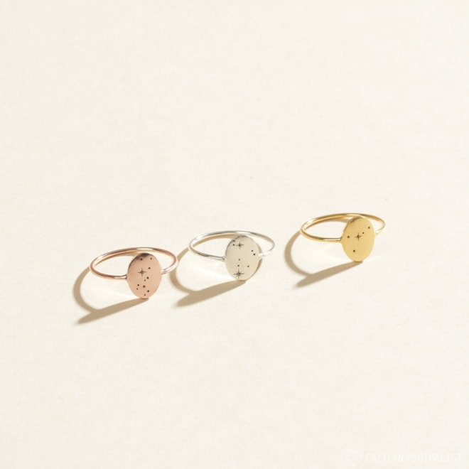 Custom Zodiac Ring
