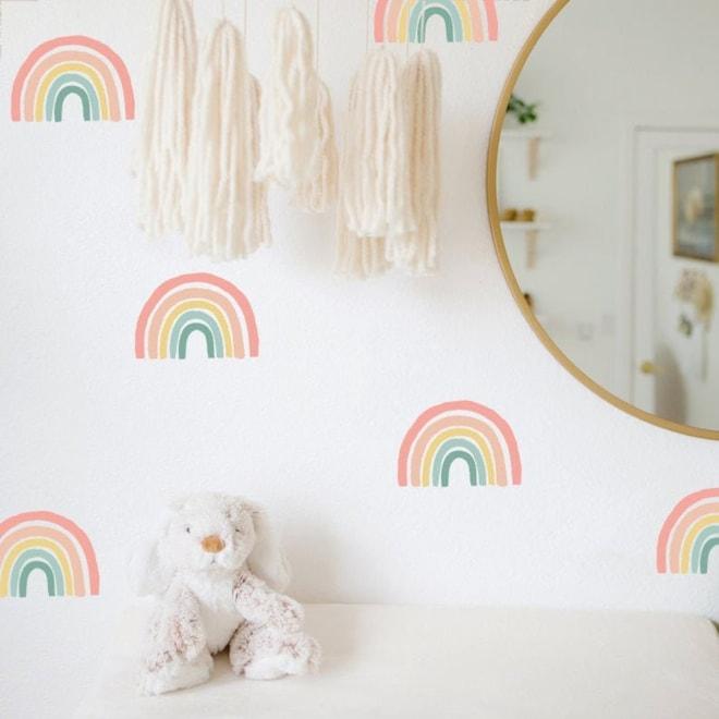 Boho Rainbow Wall Decals