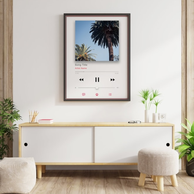 Personalized Spotify Poster