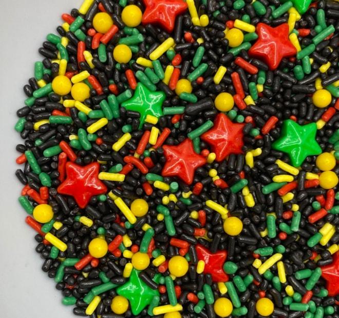 Juneteenth Sprinkles Freedom Day Edible Sprinkle Mix