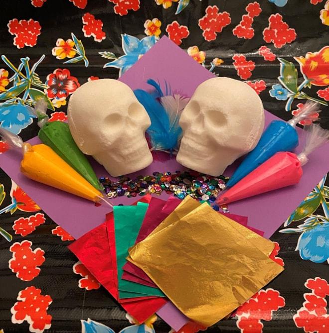 Sugar Skull Decorating Kit