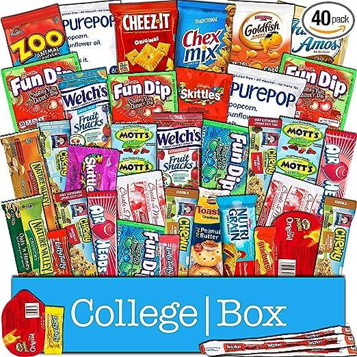 CollegeBox Snacks Care Package