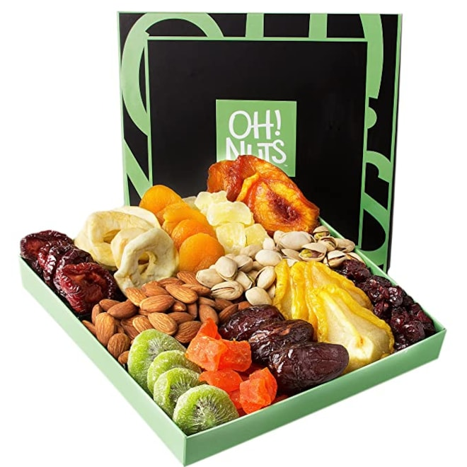 Oh! Nuts Holiday Nut & Dried Fruit Box