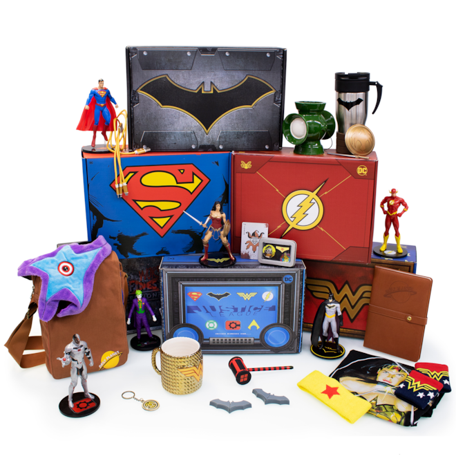 The Officially Licensed DC Comics Mystery Gift Subscription Box