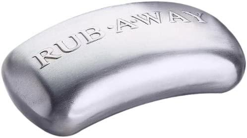 Rub Away Bar Stainless Steel Odor Absorber