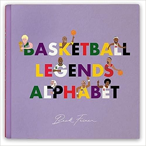 Basketball Legends Alphabet Board Book
